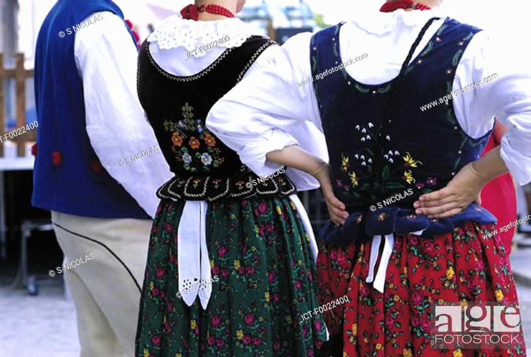 Stock Photo: Poland, Kracow, folklore.