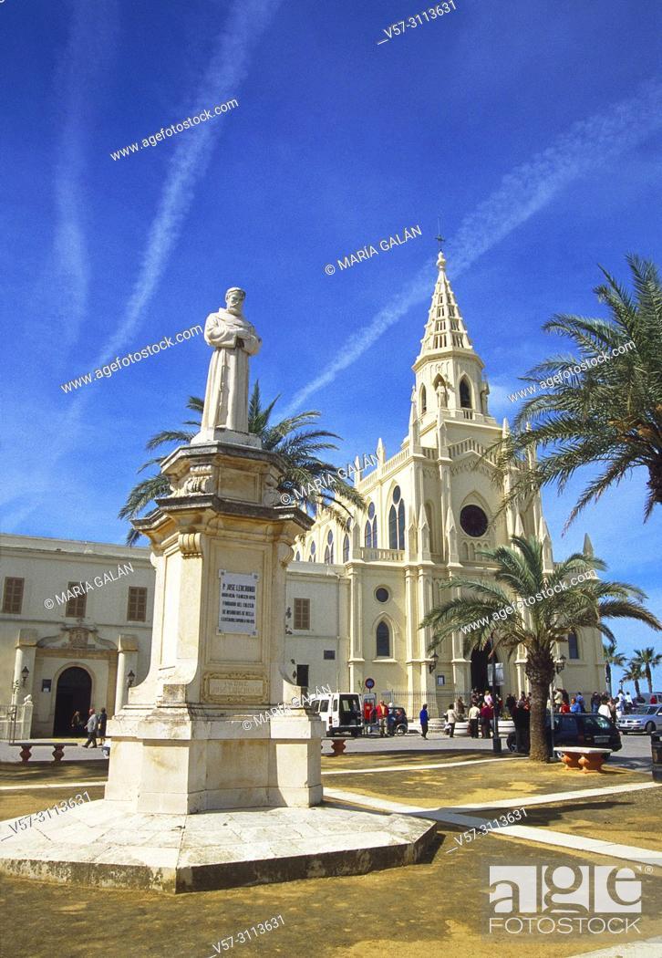 Stock Photo: Virgen de Regla sanctuary. Chipiona, Cadiz province, Andalucia, Spain.