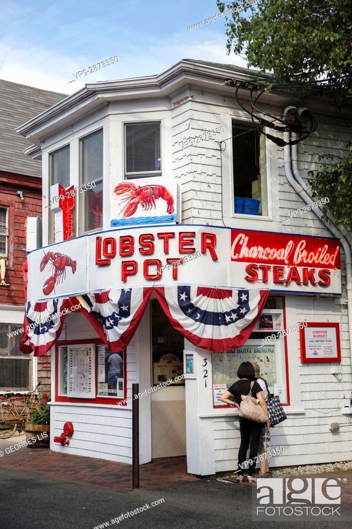 Imagen: Lobster Pot restaurant Cape Cod Provincetown MA USA Massachussets.