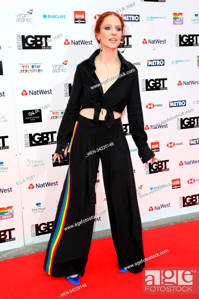 Stock Photo: The British LGBT Awards held at London Marriott Hotel - Arrivals Featuring: Jess Glynne Where: London, United Kingdom When: 11 May 2018 Credit: Lia Toby/WENN.