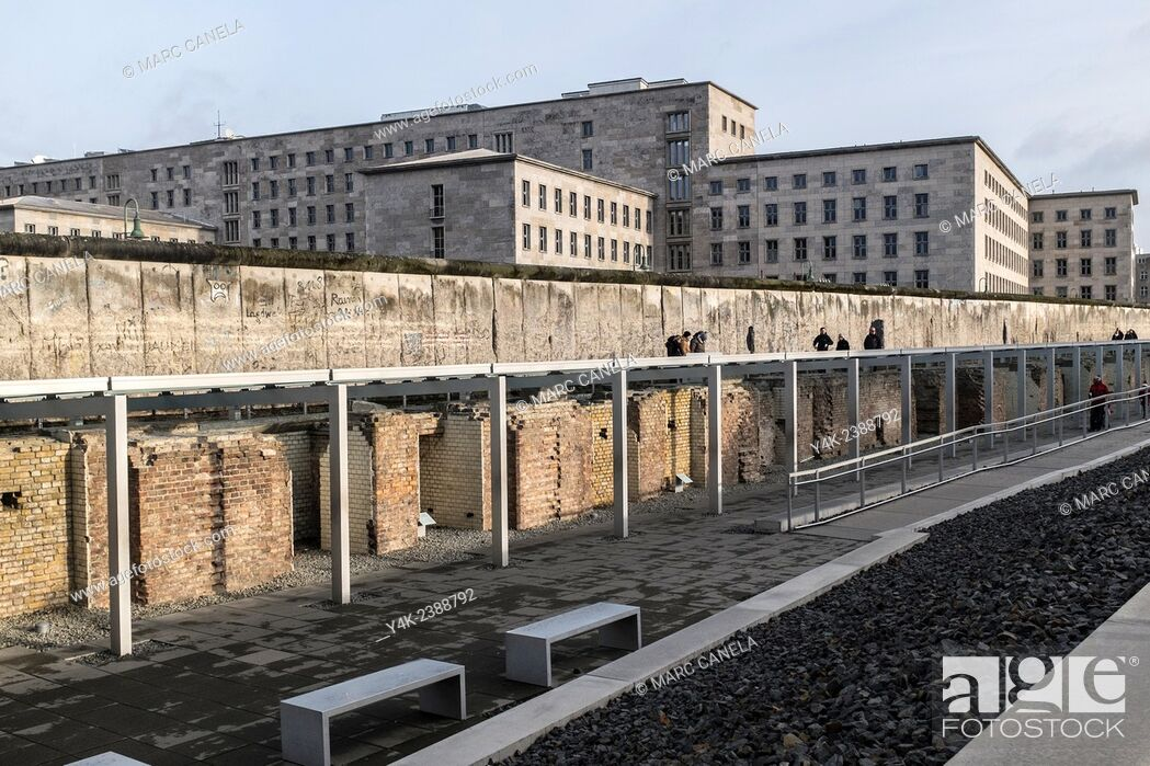 Stock Photo: Europe, Germany, Berlin, The Berlin Wall German: Berliner Mauer was a barrier that divided Berlin from 1961 to 1989, constructed by the German Democratic.