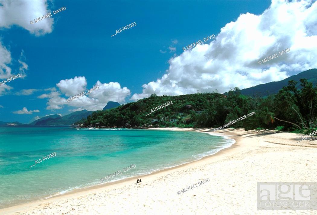 Stock Photo: Seychelles - Mahe Island - Boileau's Cove.