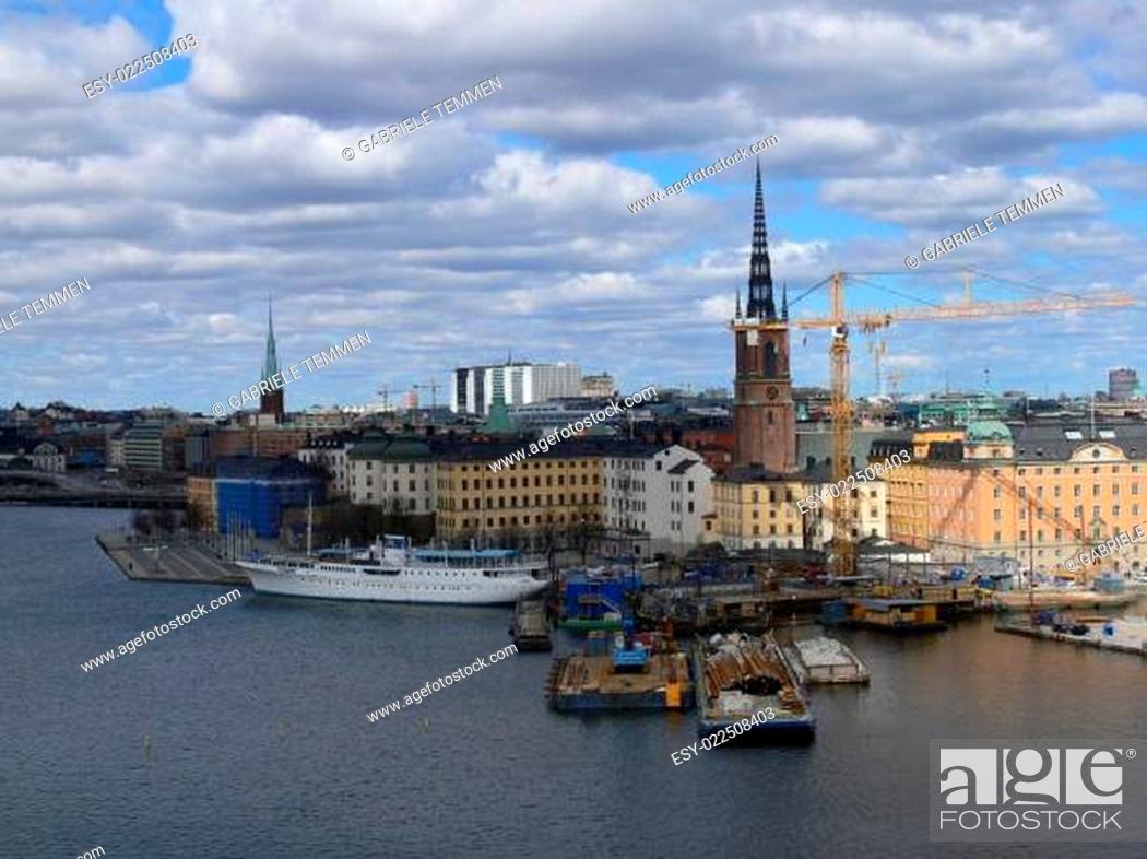 Stock Photo: Monteliusvägan.