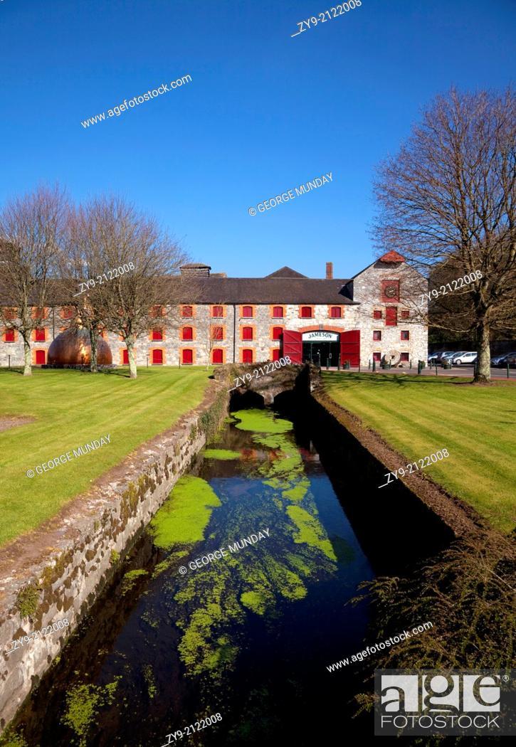 Stock Photo: Copper Still at Midleton Whiskey Distillery, Midleton, County Cork, Ireland.