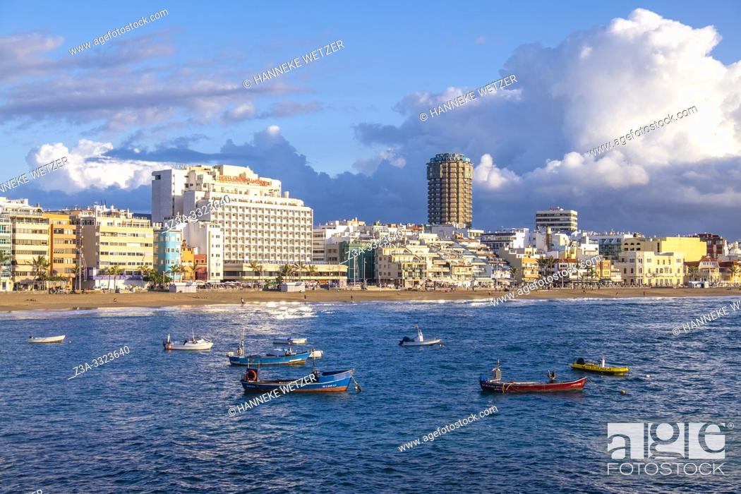 Imagen: Coastline of Las Palmas, Canary Islands.