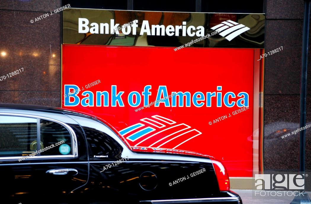 Stock Photo: New York City, Bank of America , manhattan.