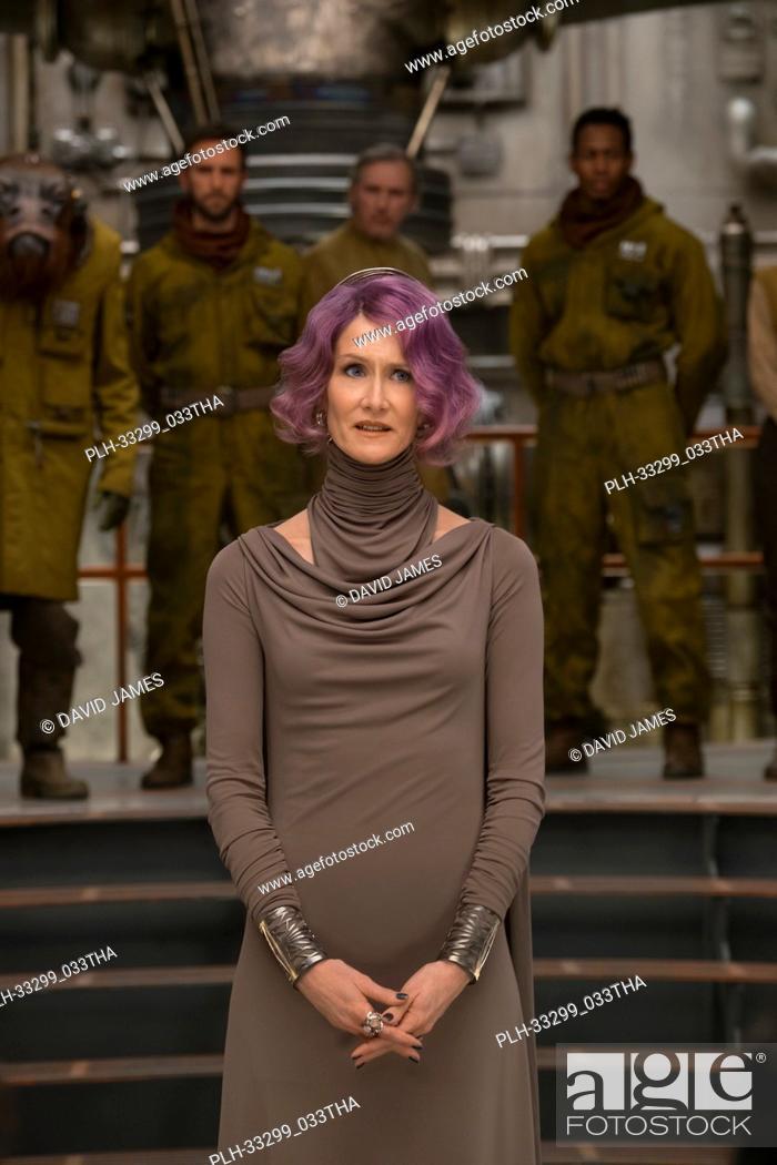 "Stock Photo: Laura Dern is Vice Admiral Holdo in """"Star Wars: The Last Jedi"""" (2017)."
