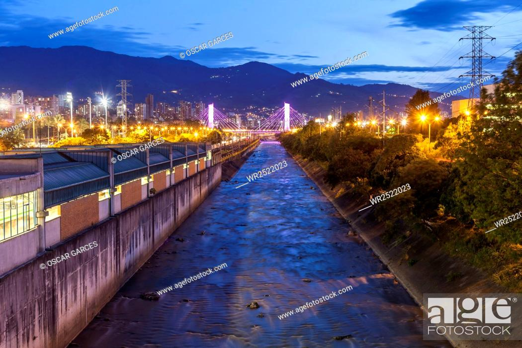 Imagen: Rio Medellin, Medellin, Antioquia, Colombia.