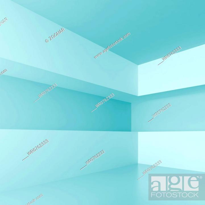 Stock Photo: Abstract Interior.