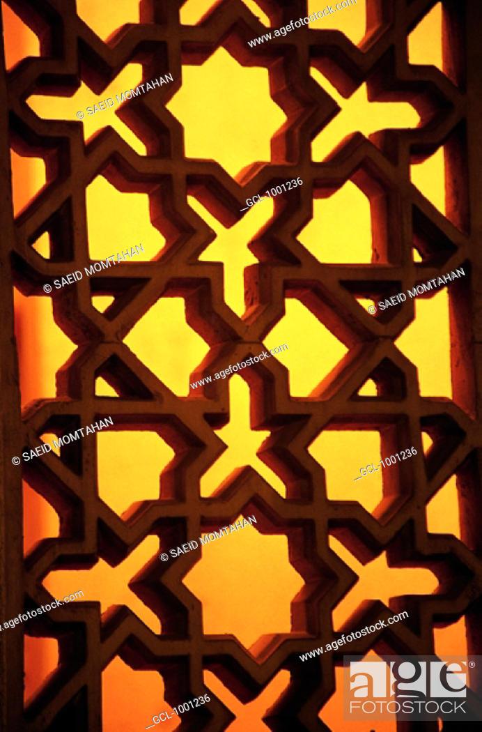 Stock Photo: Arabian arabesque ornaments.