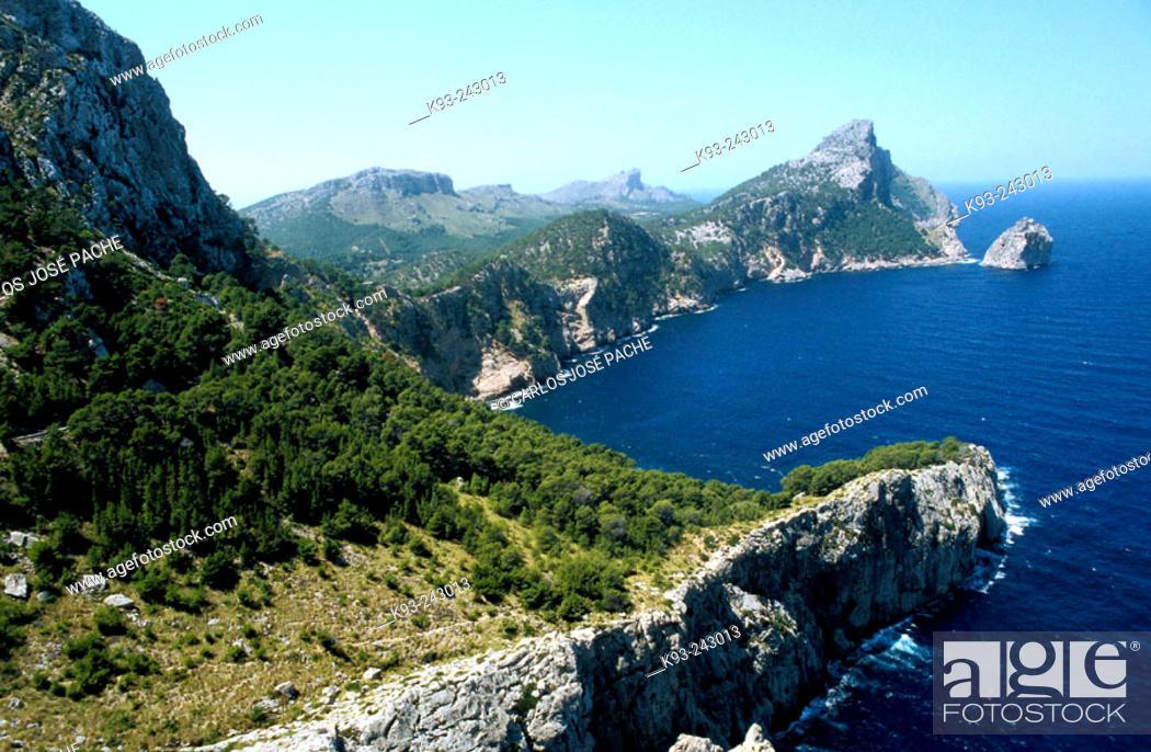 Stock Photo: Cap de Formentor. Majorca, Balearic Islands. Spain.