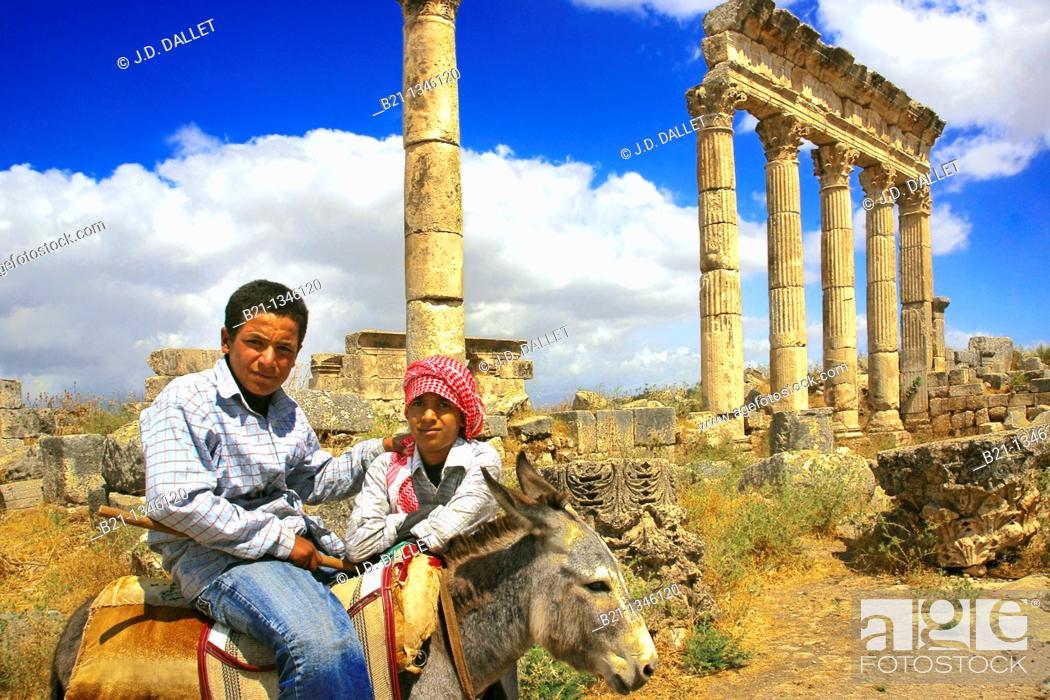 Stock Photo: Apamea, Syria.
