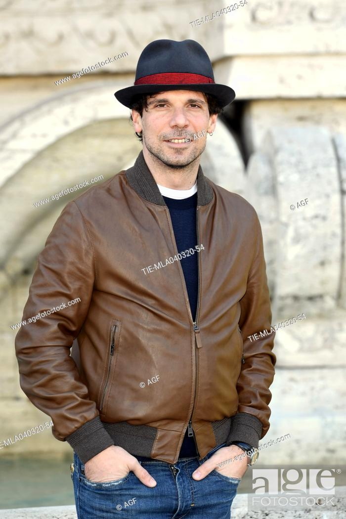 Stock Photo: Francesco Montanari during 'La volta buona' film photocall, Rome, 04/03/2020.
