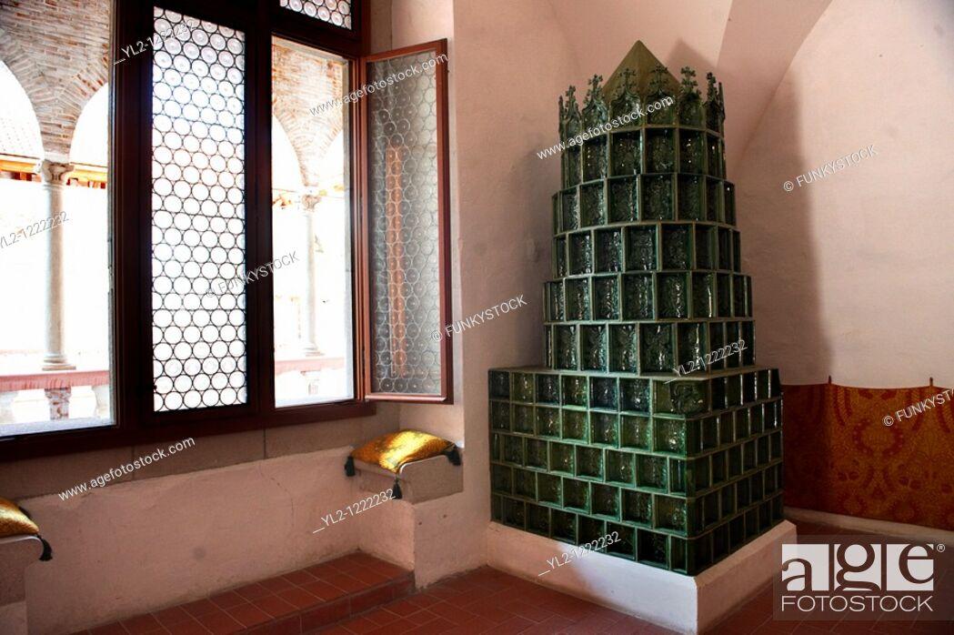 Stock Photo: Medieval Visagrad castle - King Mathias Museum Hungary.