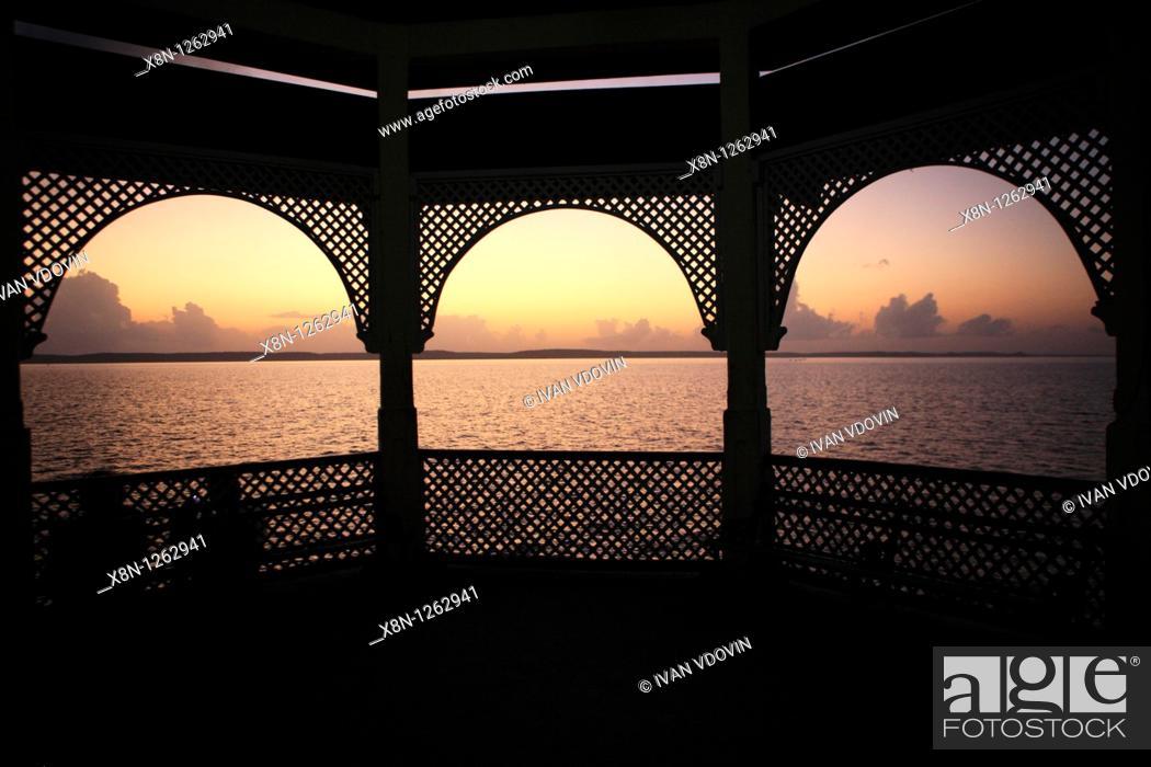 Stock Photo: Cienfuegos bay, Cienfuegos, Cuba.