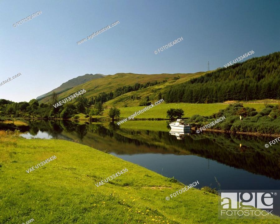 Stock Photo: Caledonian Canal.