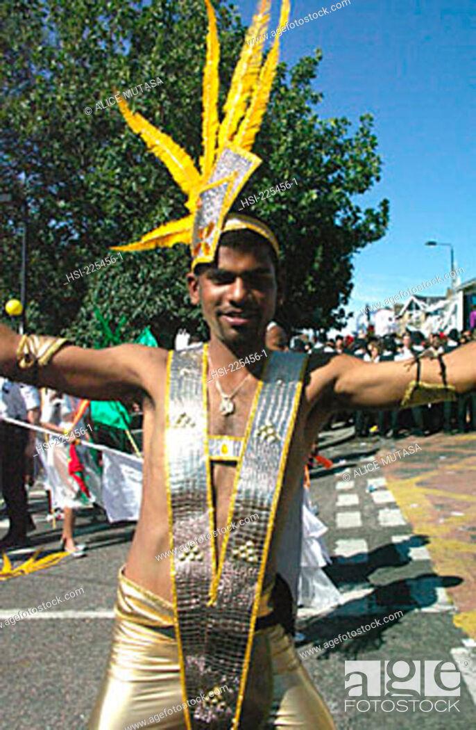 Stock Photo: travel, United Kingdom, UK, U.K., Great Britain, British Isles, England, London, Notting Hill Carnival, cultural, culture, ethnic, multicultural, carnival.