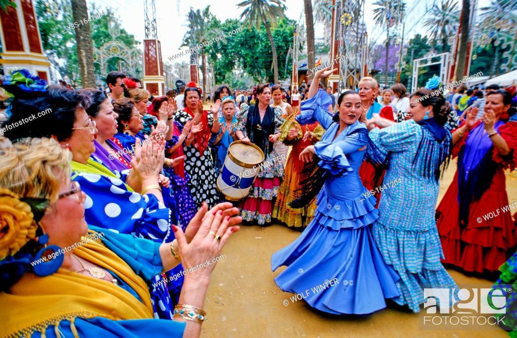 Stock Photo: Feria at Jerez.