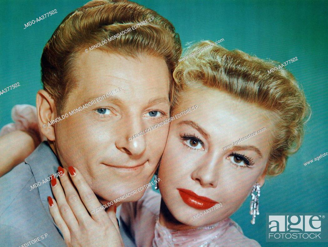 stock photo vera ellen and danny kaye in white christmas american actor danny - Actresses In White Christmas