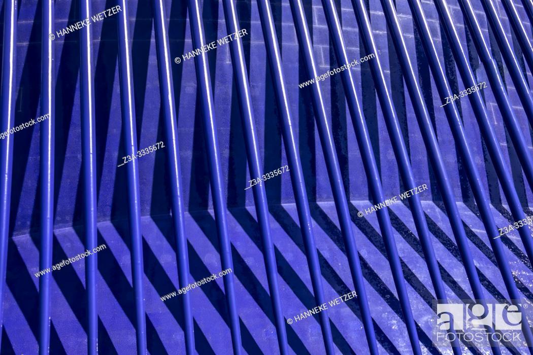 Stock Photo: Detail of the Agora, City of Arts and Science, Ciudad de las artes y las ciencias, in Valencia, Spain, Europe.