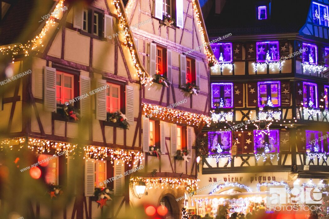 Stock Photo: Colmar in christmas, france.