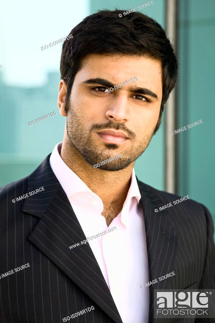 Stock Photo: Portrait of a businessman.
