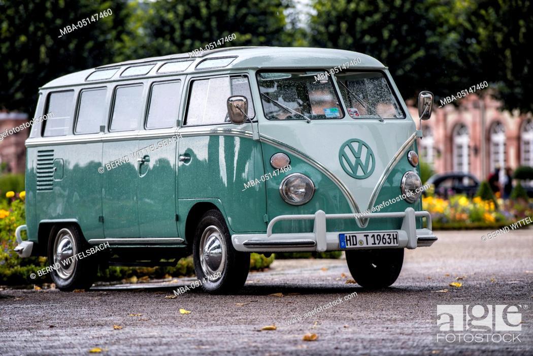 Schwetzingen, Baden-Württemberg, Germany, VW T1, year of manufacture ...
