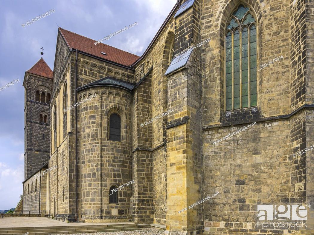 Imagen: Collegiate Church of St. Servatius, Quedlinburg, Saxony-Anhalt, Germany.