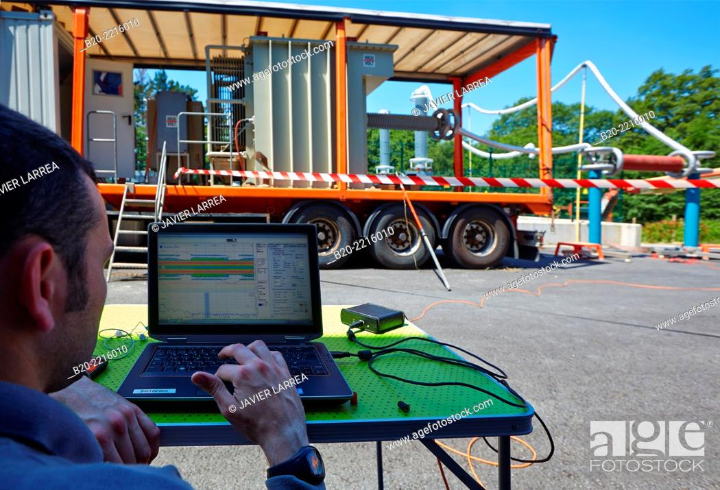 On-site commissioning, diagnostics and maintenance tests on