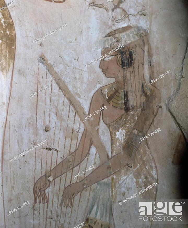 Stock Photo: Tomb of Djeserkharaseneb, Thebes, UNESCO World Heritage Site, Egypt, North Africa, Africa.
