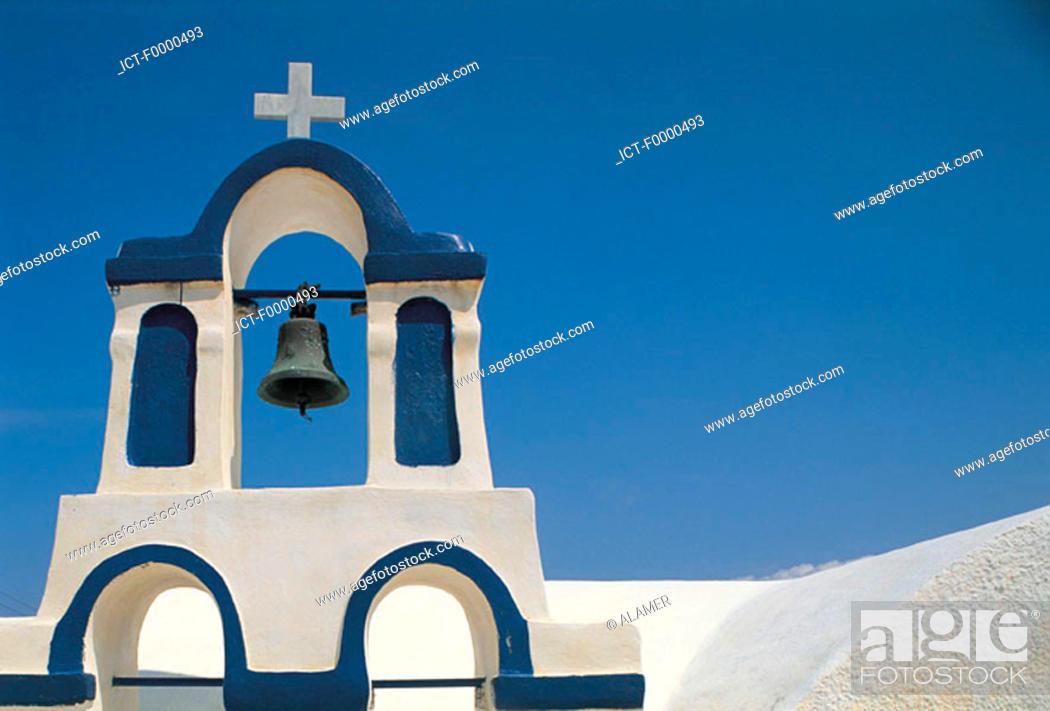 Stock Photo: Santorini, Ia.