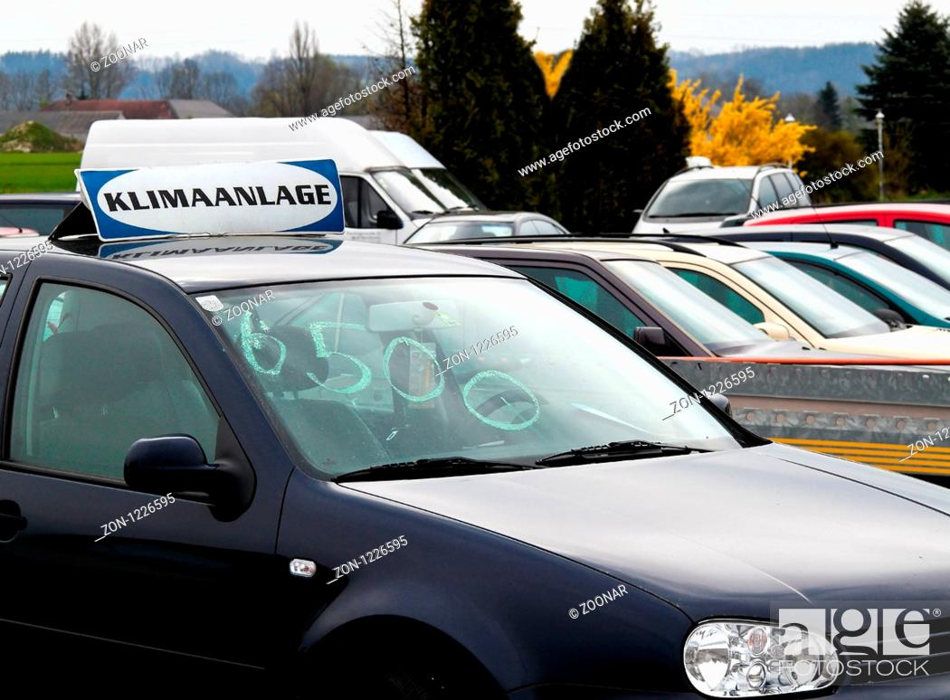 Used Cars Dealers >> Used Cars From Car Dealers Used Car Trade Stock Photo