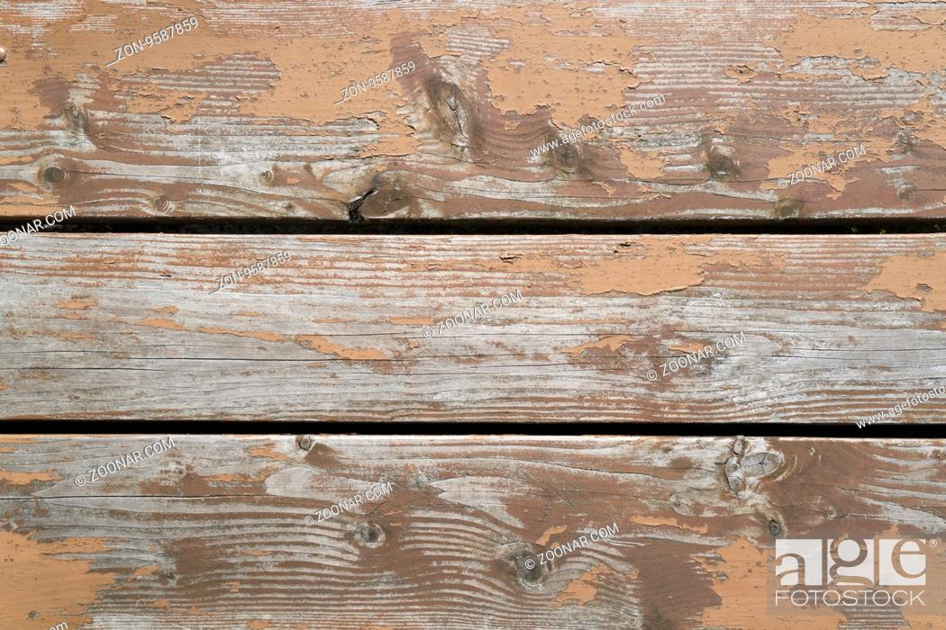 Stock Photo: Large and detailed picture of wooden texture and structure.