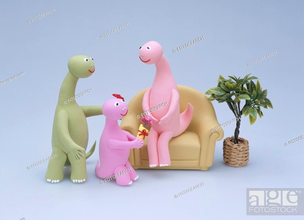 Stock Photo: Dinosaur.