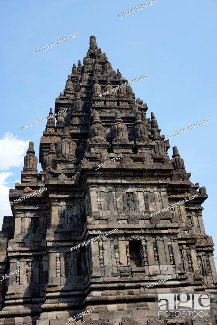Imagen: Candi Sewu Buddhist Temple, The Prambanan Temple Compounds, Yogyakarta, Central Java, Indonesia.
