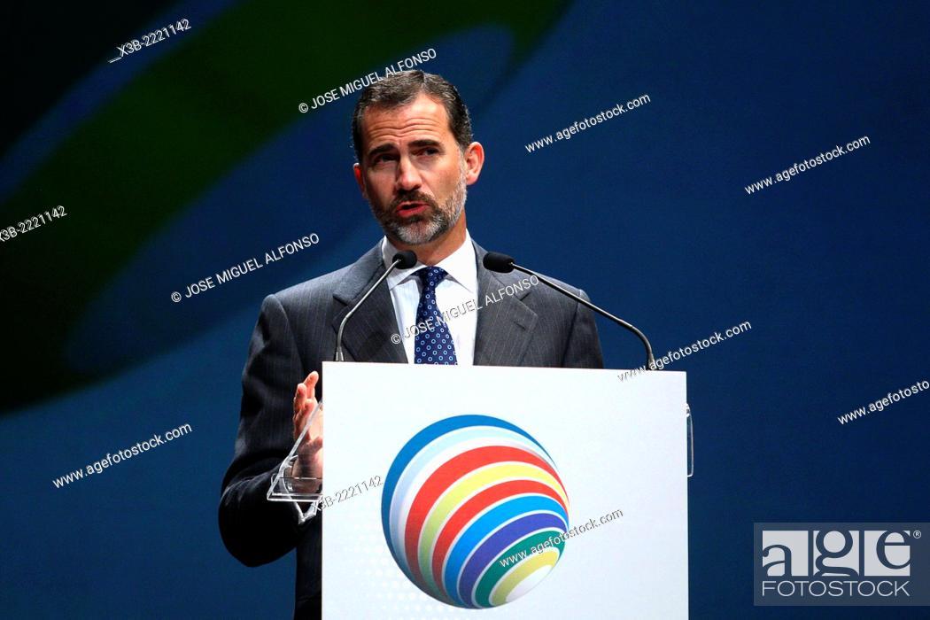 Stock Photo: Philip VI, King of Spain.