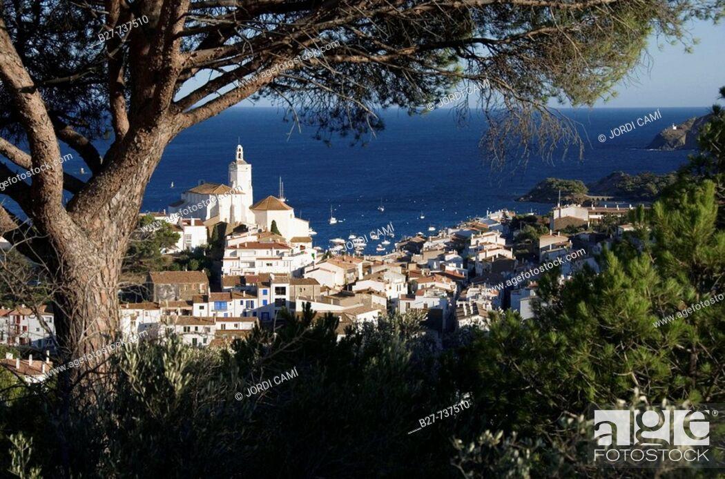 Stock Photo: Cadaques, Costa Brava. Girona province, Catalonia, Spain.