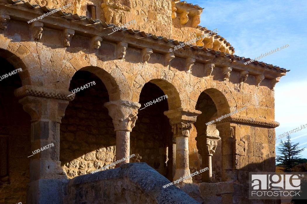 Imagen: San Miguel church. San Esteban de Gormaz, Soria province, Castilla y León. Spain.