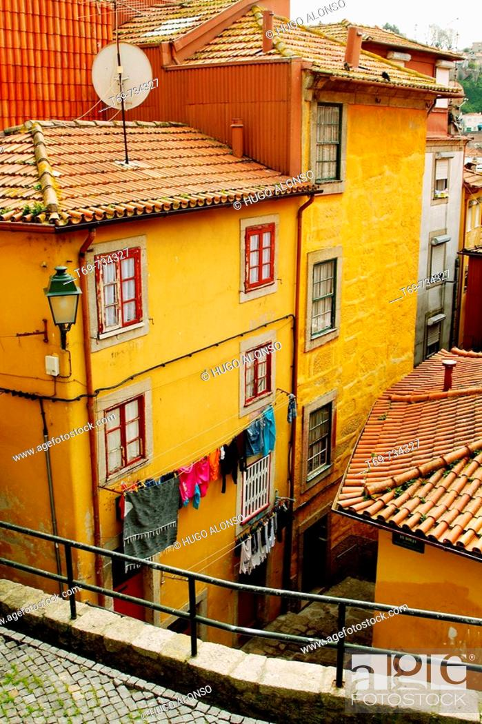 Stock Photo: Buildings, Portugal.