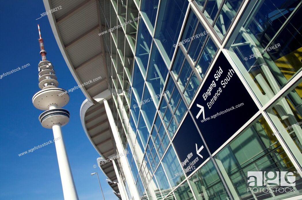 Stock Photo: Fair of Hamburg, Germany.