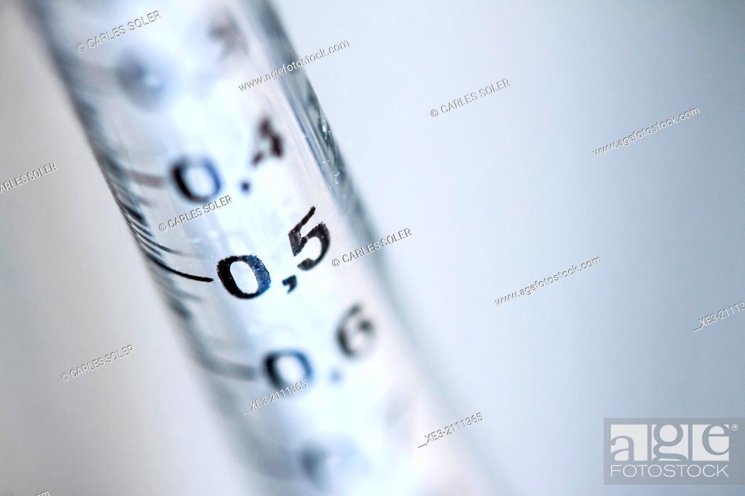 Stock Photo: Syringe.