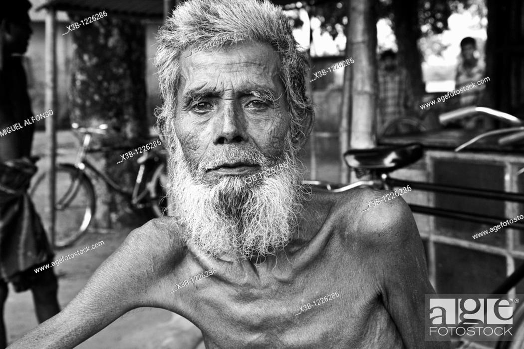 Stock Photo: Portrait of a person in Bangladesh.