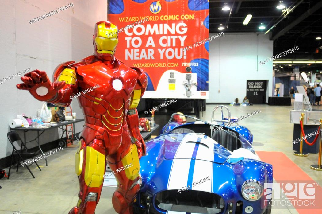 Stock Photo: Wizard World Comic Con Chicago 2015 at the Donald E. Stephens Convention Center in Rosemont - Day 2 - Inside Featuring: Atmosphere Where: Rosemont, Illinois.