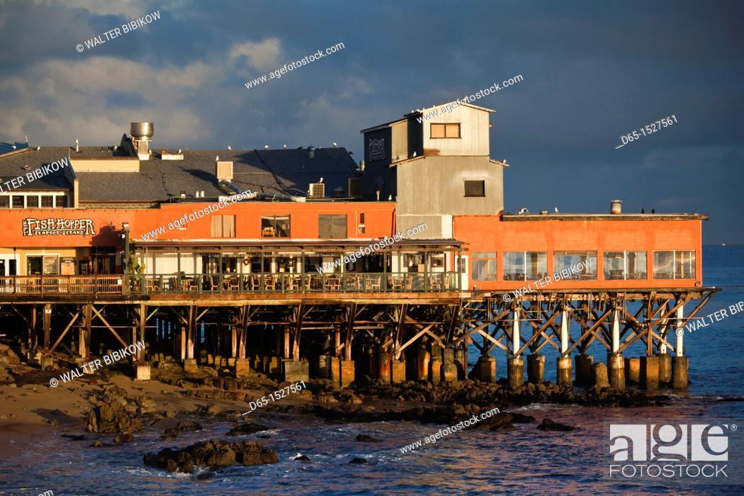 Usa California Central Coast Monterey Cannery Row Area