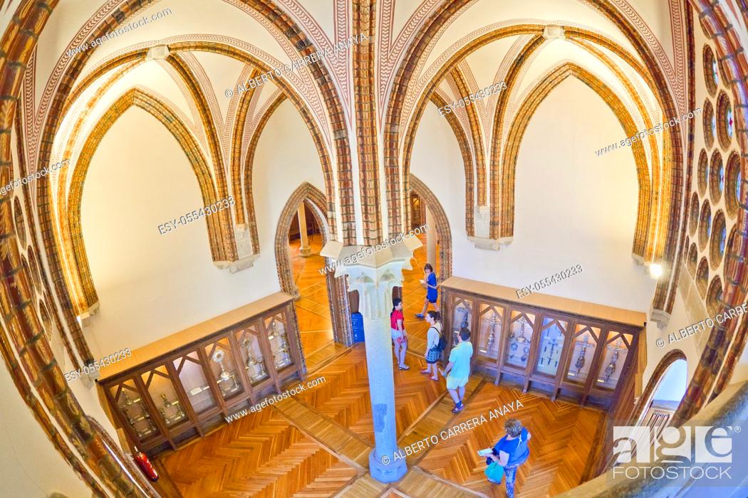 Imagen: Episcopal Palace of Astorga, Palace of Gaudí, 19th Century Neogothic Style, Spanish Property of Cultural Interest, Astorga, León, Castilla y León, Spain, Europe.