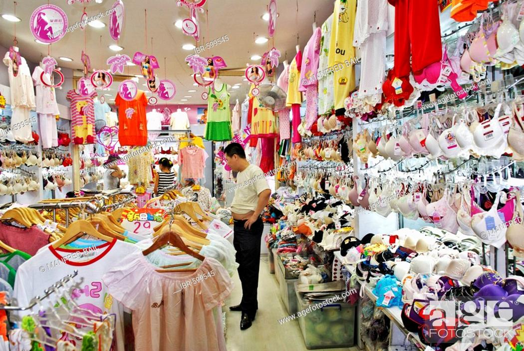 low priced acfcd bf850 Dessous shop, Shanghai, China, Asia, Stock Photo, Picture ...
