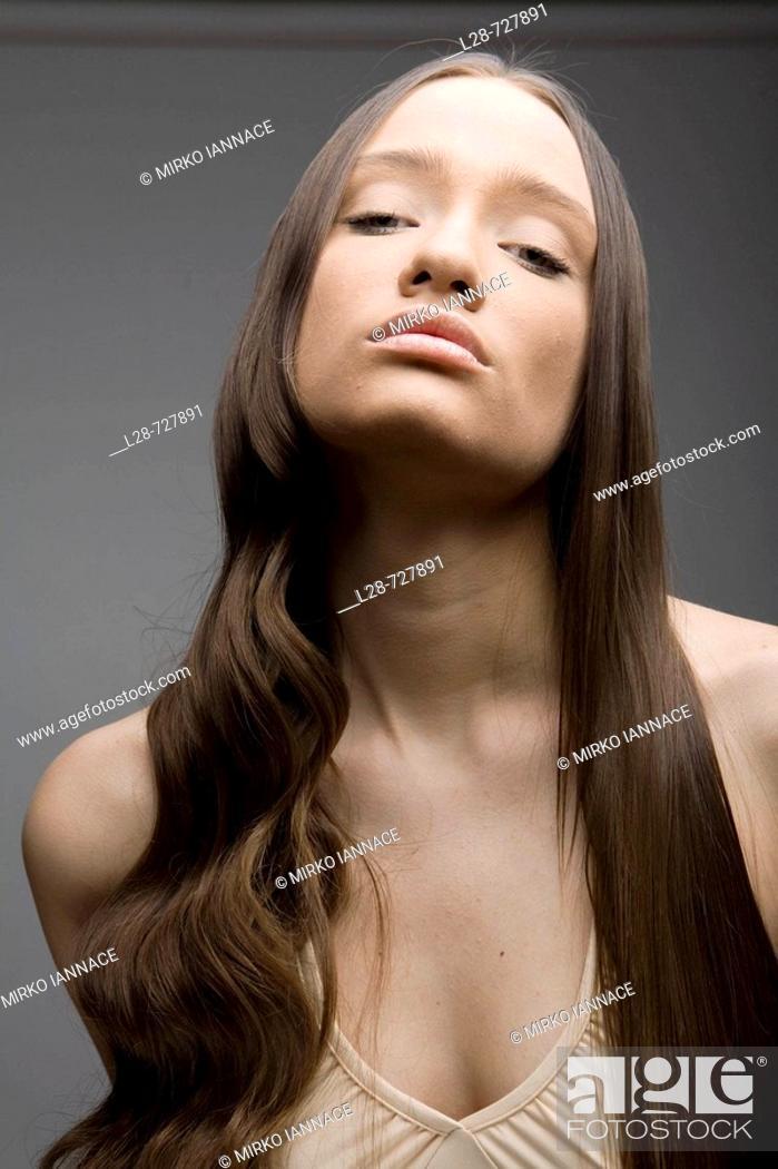 Stock Photo: beauty woman portrait.