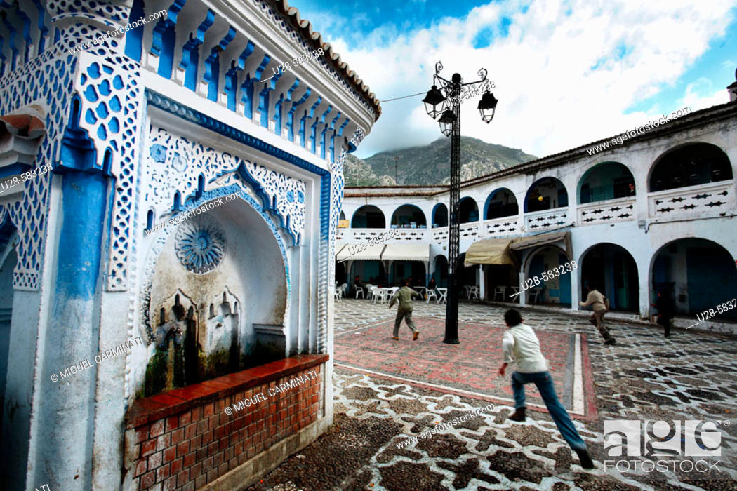 Stock Photo: Chefchaouen, Morocco.