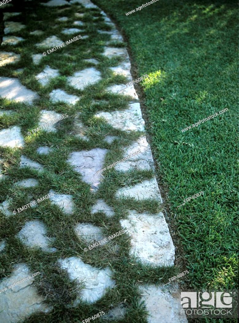 Stock Photo: Garden path.