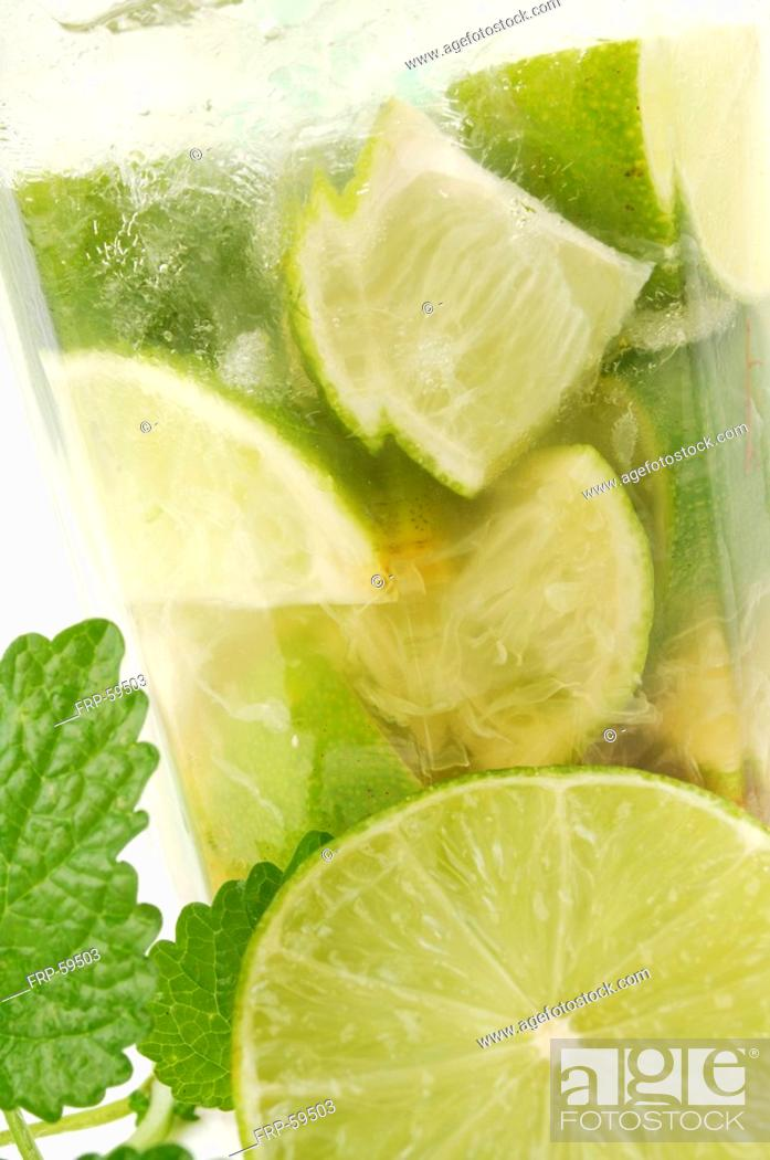 Stock Photo: Mojito.